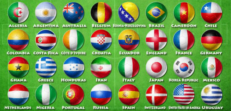 World Cup Teams 2014